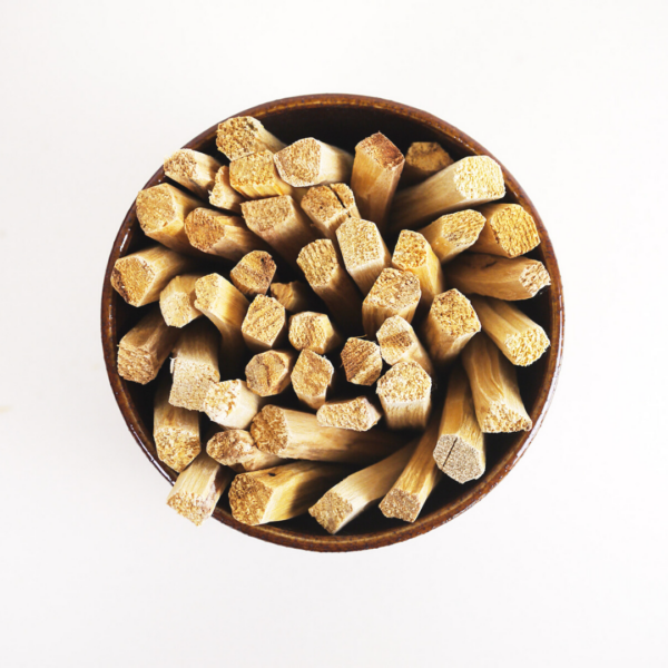 Sustainable Palo Santo Sticks from above
