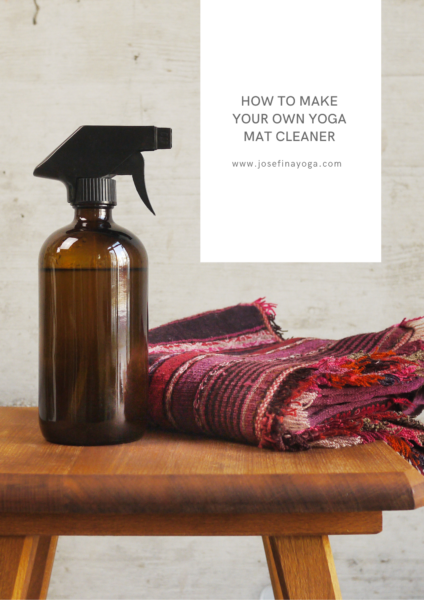 How to Make Your Own Yoga Mat Cleaner
