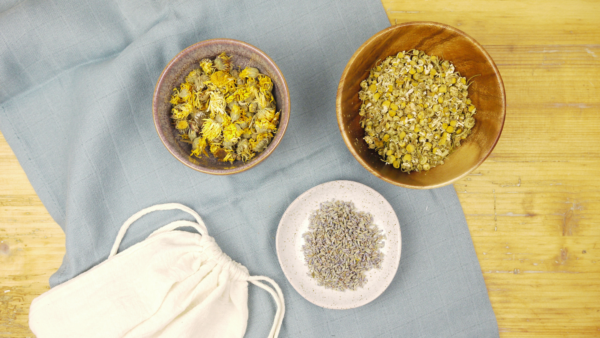 Herbal bath ingredients