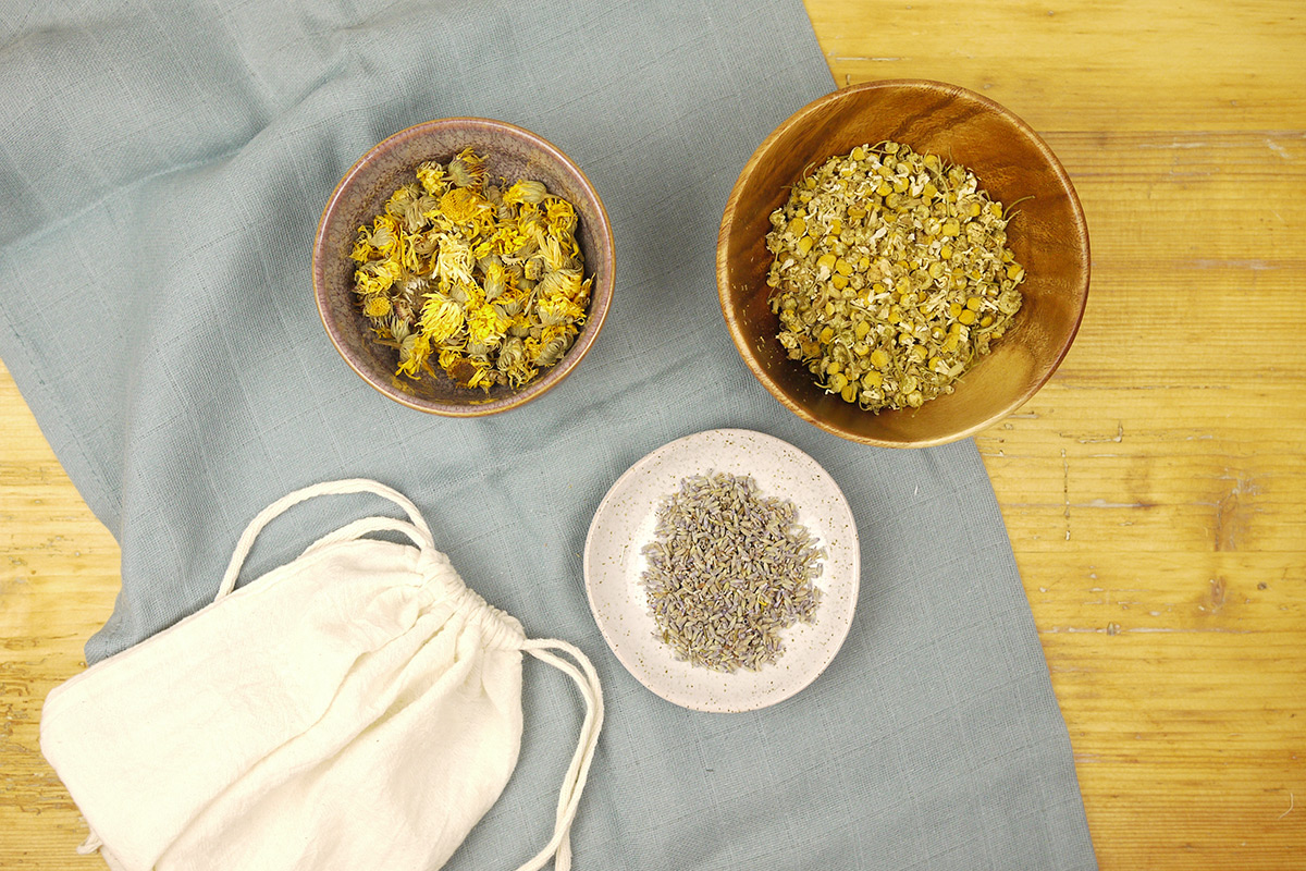 A Herbal Bath for Stressed Mums