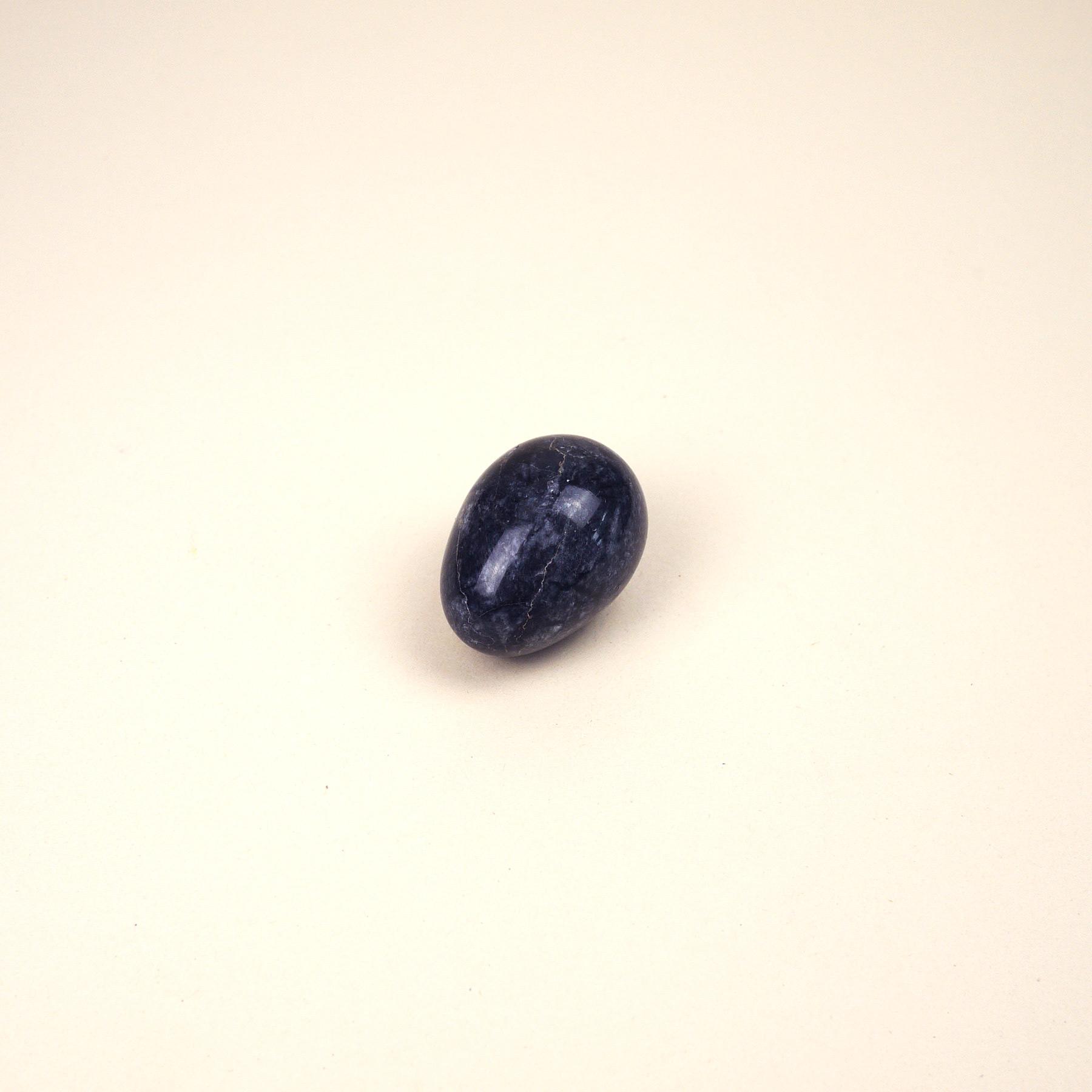 Black Marble Egg
